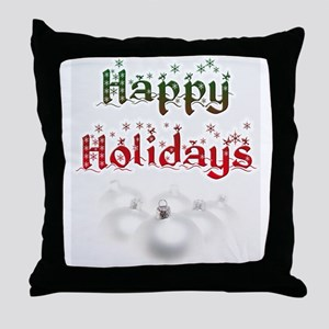 holiday cards 8 Throw Pillow