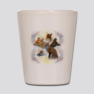 foxes Shot Glass