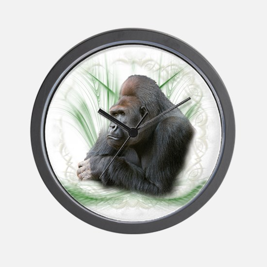 gorilla1 Wall Clock