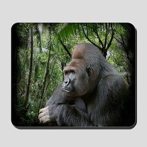gorilla2black Mousepad