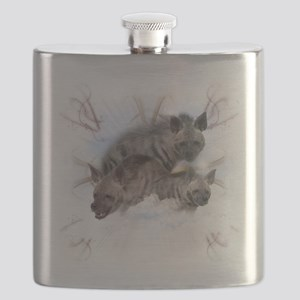 Striped Hyenas Flask