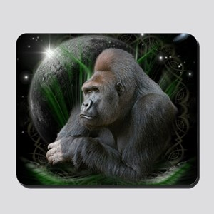 gorilla1black Mousepad