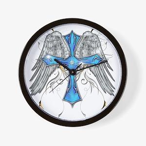 flying cross cafe Wall Clock