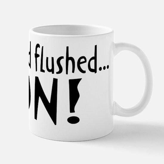 flushed Mug