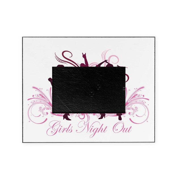 Perfecto Girls Night Out Picture Frame Festooning - Ideas de Arte ...