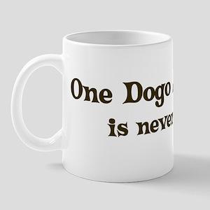 One Dogo Argentino Mug