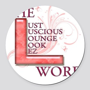 The L Word Round Car Magnet