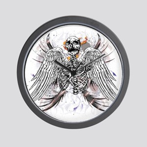 Winged Death Wall Clock