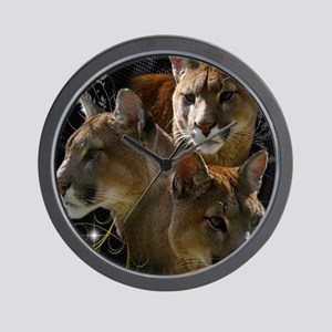 Cougars Wall Clock