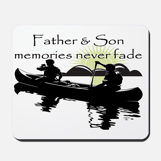 Father and Son Mousepad