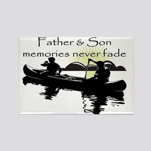Father and Son Rectangle Magnet