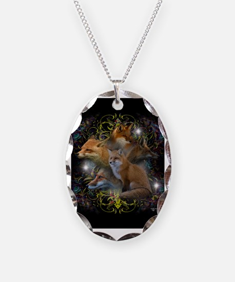 Foxes Necklace