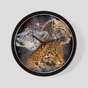 Leopards Wall Clock