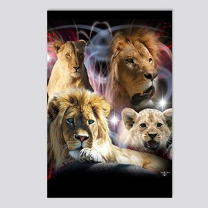 Lions Postcards (Package of 8)