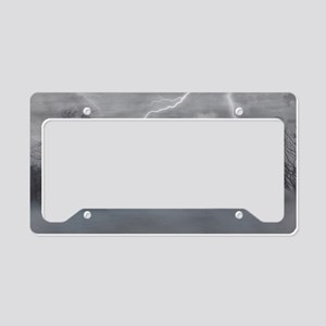 Loneliness License Plate Holder