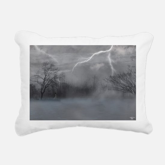 Loneliness Rectangular Canvas Pillow