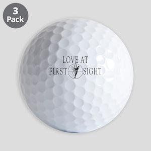 LOVE FIRST SIGHT Golf Balls