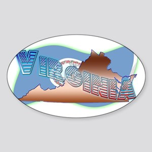 Virginia Sticker (Oval)