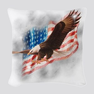 2-faded glory copy Woven Throw Pillow