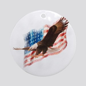 faded glory dark tees Round Ornament