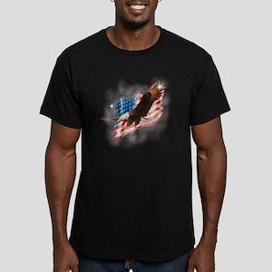 faded glory dark tees Men's Fitted T-Shirt (dark)