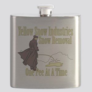 Yellow Snow Flask