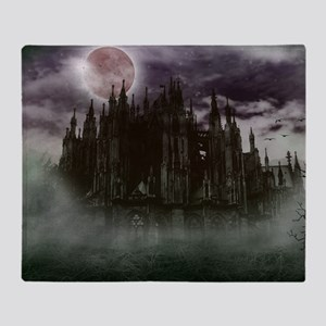 cathedral moon Throw Blanket