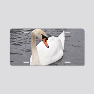 Swan (9) Aluminum License Plate