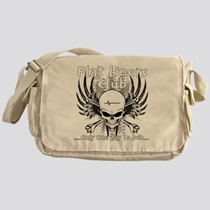 flatliner club back Messenger Bag