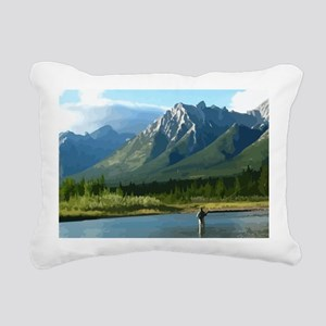 Untitled-4 Rectangular Canvas Pillow