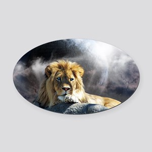 Untitled-7 Oval Car Magnet