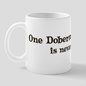 One Doberman Pinscher Mug