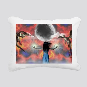 Untitled-18 Rectangular Canvas Pillow