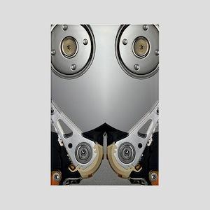 Hard drive Rectangle Magnet