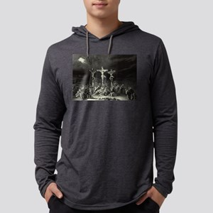 The Crucifixion - 1849 Mens Hooded Shirt