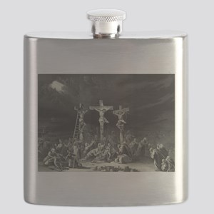 The Crucifixion - 1849 Flask