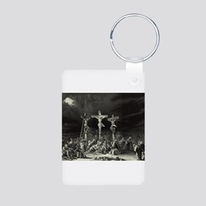 The Crucifixion - 1849 Aluminum Photo Keychain
