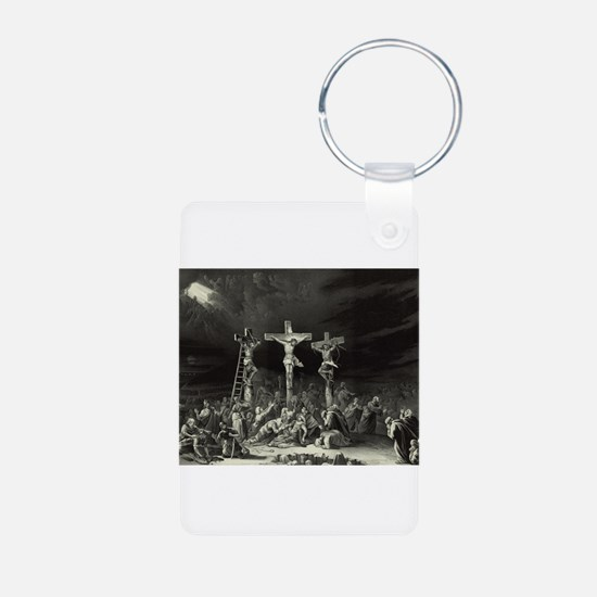 The Crucifixion - 1849 Keychains