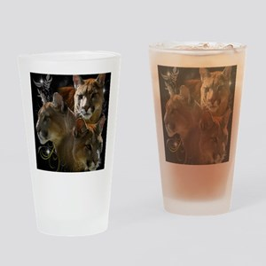 Cougar Drinking Glass