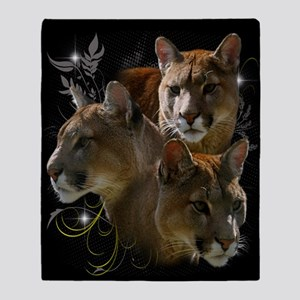 Cougar Throw Blanket