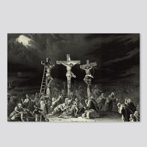The Crucifixion - 1849 Postcards (Package of 8)