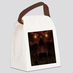 Depths of Hell Canvas Lunch Bag