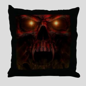 Depths of Hell Throw Pillow