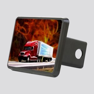 hells highway Large Rectangular Hitch Cover
