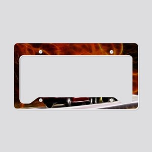 hells highway Large License Plate Holder