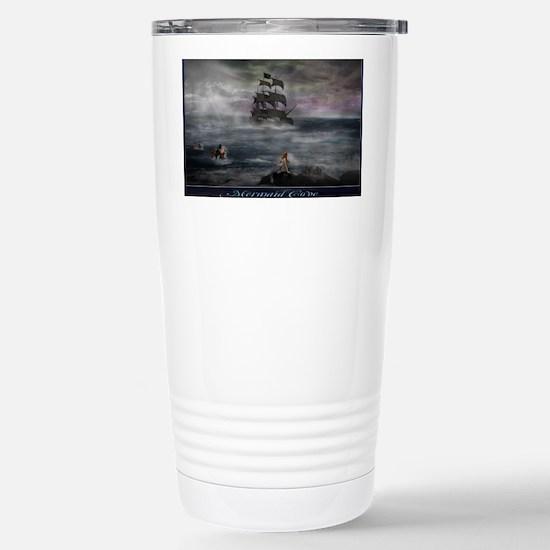 Mermaid Cove Large Stainless Steel Travel Mug
