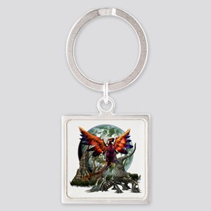 monster 2 Square Keychain