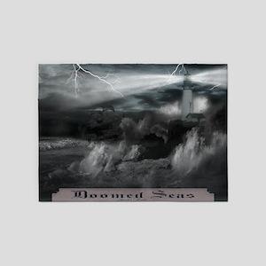 Doomed Seas Poster 5'x7'Area Rug