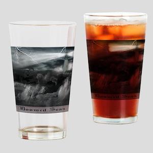 doomed seas framed Drinking Glass
