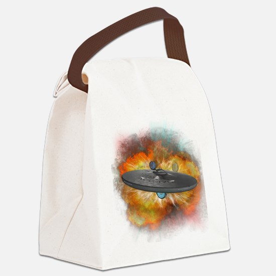 enterprise Canvas Lunch Bag